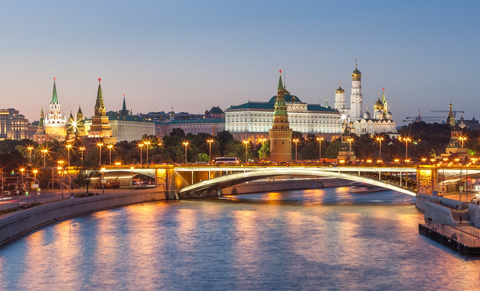 Charter A Private Jet to Russia, Moscow